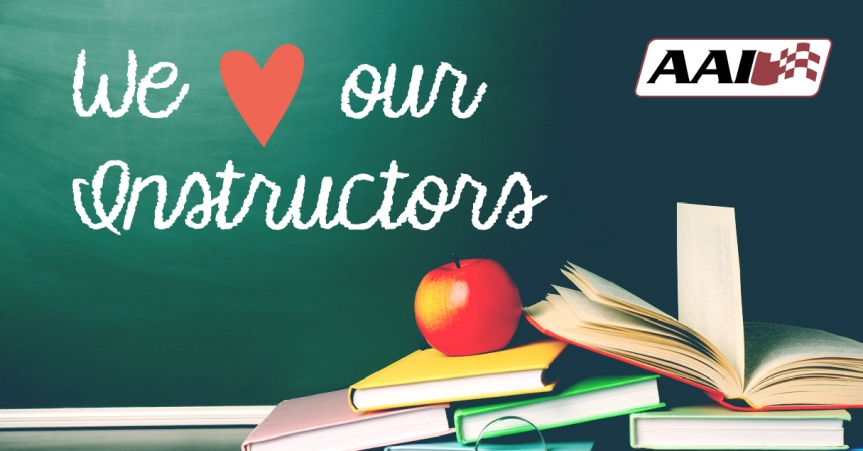 5 Reasons to Celebrate Your Instructors during Teacher Appreciation Week